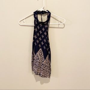 Band of Gypsies halter top. Small